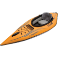 Advanced Elements Lagoon 1 Person Kayak, Orange/Gray