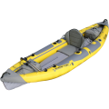 Advanced Elements Strait Edge Angler 1 Person Kayak, Yellow